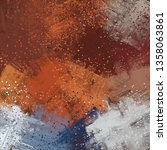 abstract texture. 2d... | Shutterstock . vector #1358063861