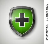 medical health protection... | Shutterstock . vector #1358065037