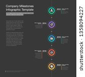 modern infographic for company... | Shutterstock .eps vector #1358094227
