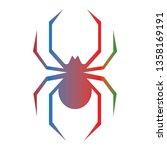 this is a vector cute spider...