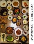 korean typical lunch | Shutterstock . vector #1358194154