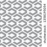 vector seamless pattern. modern ...   Shutterstock .eps vector #1358195054