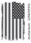 grunge american flag | Shutterstock .eps vector #1358239541