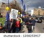 london  uk. 3rd april. one of... | Shutterstock . vector #1358253917