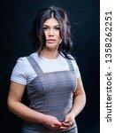 makeup artist. cosmetic tweezer.... | Shutterstock . vector #1358262251