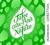 inspirational inscription on... | Shutterstock .eps vector #1358277101