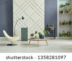 home decoration interior room ... | Shutterstock . vector #1358281097