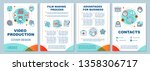 video production agency... | Shutterstock .eps vector #1358306717