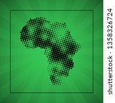 sketch blot dotty african... | Shutterstock . vector #1358326724