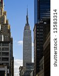 empire state building in nyc | Shutterstock . vector #13583314