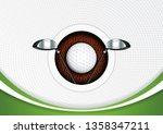 golf poster  vector illustration | Shutterstock .eps vector #1358347211