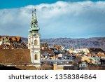 church of saint anne in... | Shutterstock . vector #1358384864