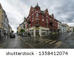 view of alesund in a cloudy day ...   Shutterstock . vector #1358412074