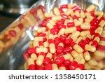 medicine and healthy. drugs... | Shutterstock . vector #1358450171