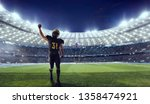 american football. american... | Shutterstock . vector #1358474921
