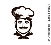 chef logo. cuisine  cooking... | Shutterstock .eps vector #1358554817