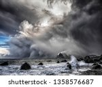 Small photo of Polar low - the arctic hurricane For centuries mariners of the Nordic Seas have told tales of unexpected encounters with fierce storms that appeared out of nowhere to wreak havoc on the seas.
