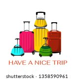 have a nice trip vector banner...   Shutterstock .eps vector #1358590961