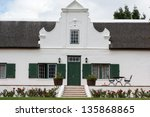 Cape Dutch Style House In The...