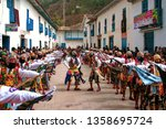 paucartambo  cusco  peru  ... | Shutterstock . vector #1358695724