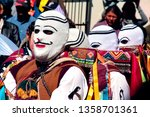 paucartambo  cusco  peru  ... | Shutterstock . vector #1358701361