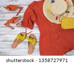 womens clothing  shoes ... | Shutterstock . vector #1358727971