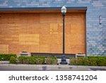 plywood shutters prevent... | Shutterstock . vector #1358741204