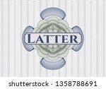 blue and green passport money...   Shutterstock .eps vector #1358788691
