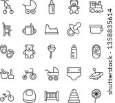 thin line vector icon set  ...   Shutterstock .eps vector #1358835614