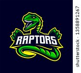 Raptors Mascot Logo For Sport...