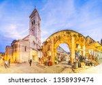 View of souvenir market and Lutheran Church of the Redeemer, Jerusalem