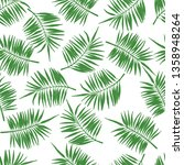 tropical seamless pattern with... | Shutterstock .eps vector #1358948264