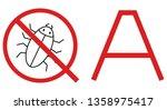 quality assurance testing... | Shutterstock .eps vector #1358975417