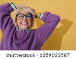 cropped photo of joyful...   Shutterstock . vector #1359033587