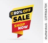 vector sale banner template...   Shutterstock .eps vector #1359066704