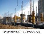 Concrete Pillars On...
