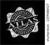 atlas on chalkboard | Shutterstock .eps vector #1359088427
