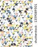 irregular vector colorful... | Shutterstock .eps vector #1359089501