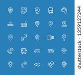 editable 25 gray icons for web...