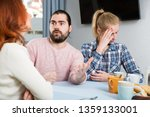 the son in law makes claims to... | Shutterstock . vector #1359133001