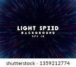 abstract light speed background.... | Shutterstock .eps vector #1359212774