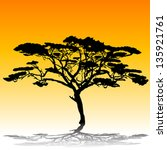 acacia tree tattoo vector download 1 000 vectors page 1. Black Bedroom Furniture Sets. Home Design Ideas