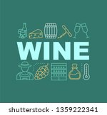 wine industry word concepts...