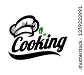 cooking logo template | Shutterstock .eps vector #1359223991