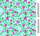 seamless summer pattern ... | Shutterstock .eps vector #1359246107