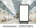 digital media blank white... | Shutterstock . vector #1359272891