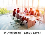 group of young business people...   Shutterstock . vector #1359313964