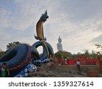 King Of Nagas With Buddha...
