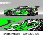 racing car wrap design vector....   Shutterstock .eps vector #1359328421
