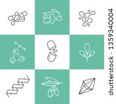vector set of logos  badges and ... | Shutterstock .eps vector #1359340004